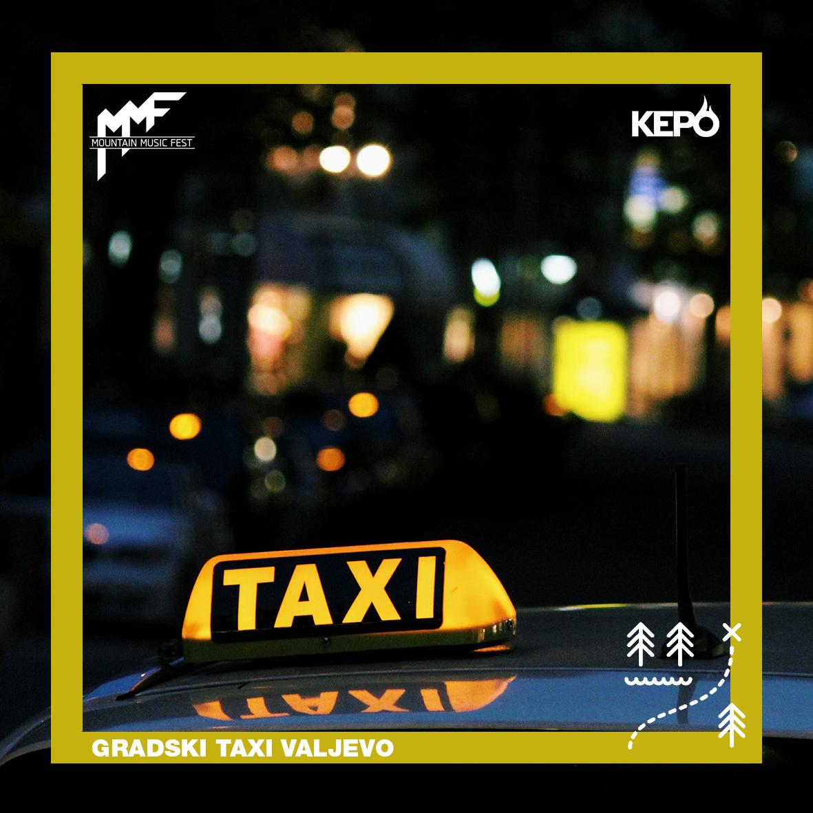 Gradski Taxi Valjevo – partner festivala!