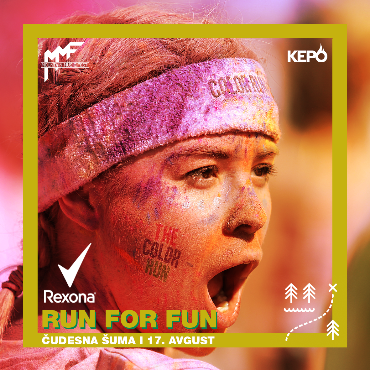 Trka boja: REXONA – Run for Fun!